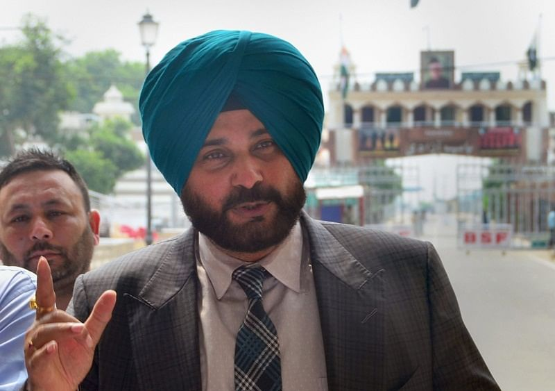 'No comment': Navjot Singh Sidhu refuses to comment on Bajwa's 'bloodshed' remark
