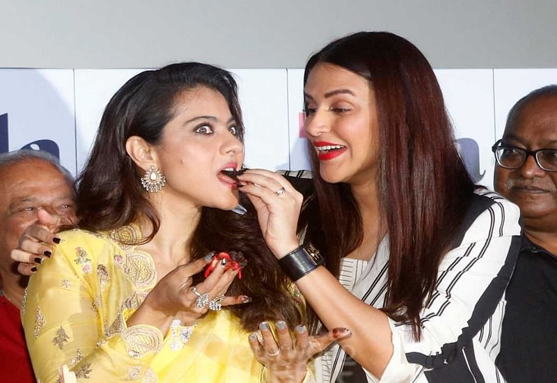 Helicopter Eela: Kajol lights up the screen when she's there, says co-star Neha Dhupia