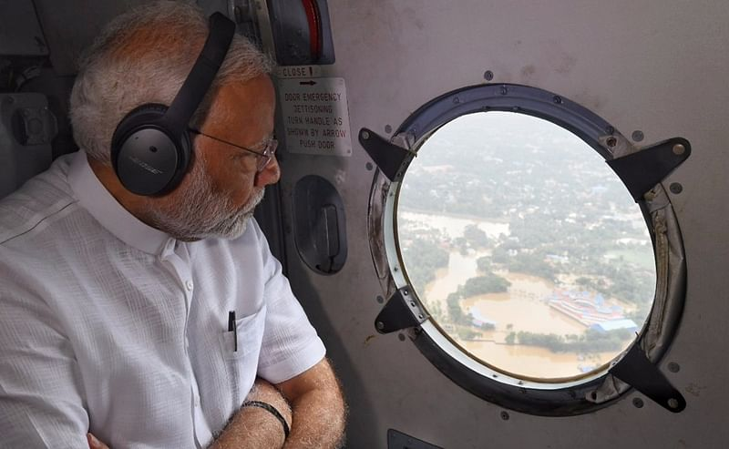 Kerala floods: PM Modi announces Rs 500 crore relief fund, Rs 2 lakh ex-gratia to kin of deceased
