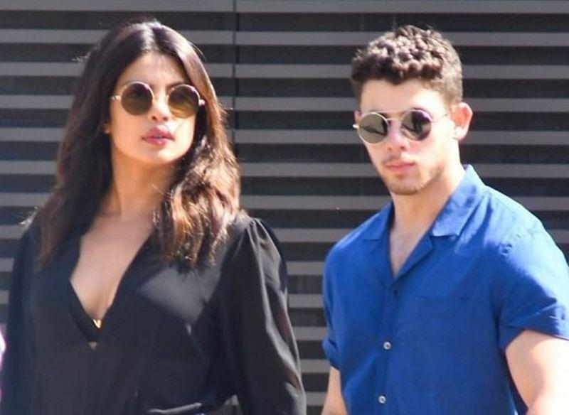 Priyanka Chopra enjoys lunch with fiance Nick Jonas, see photos