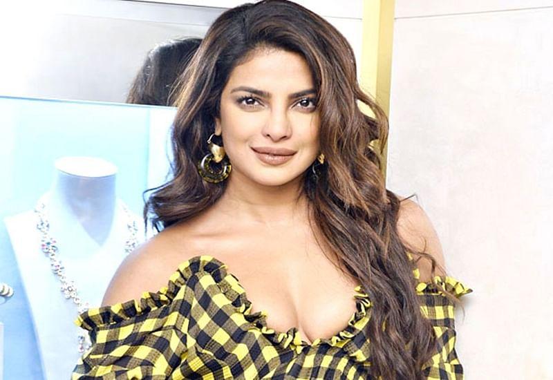 Revealed! Soon-to-be bride Priyanka Chopra spills details of her wedding dress