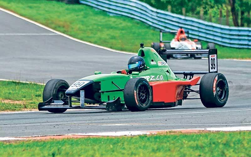 Raghul Rangaswamy, Arjun Balu battle to victories in racing nationals