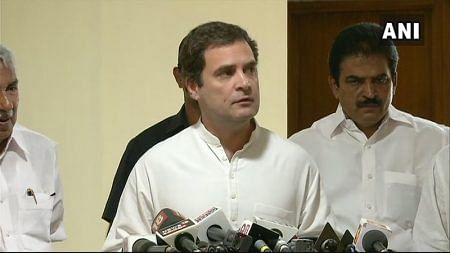 Rahul Gandhi in Kerala: Any unconditional financial support should be accepted