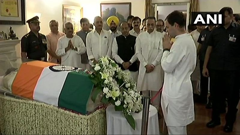 Vajpayee passes away: Rahul Gandhi, Ajit Doval, armed forces chiefs pay homage to Vajpayee