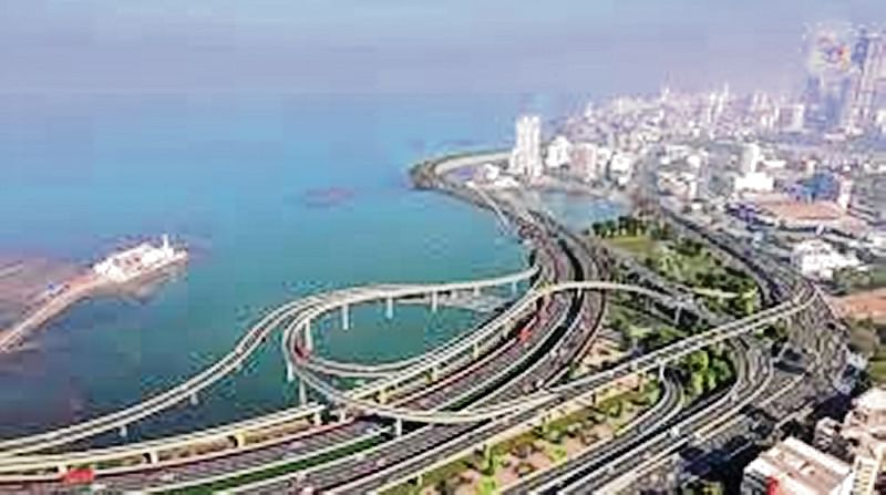 BMC's key coastal road work from Princess Street Flyover to Worli end of Bandra-Worli Sea Link will start in October