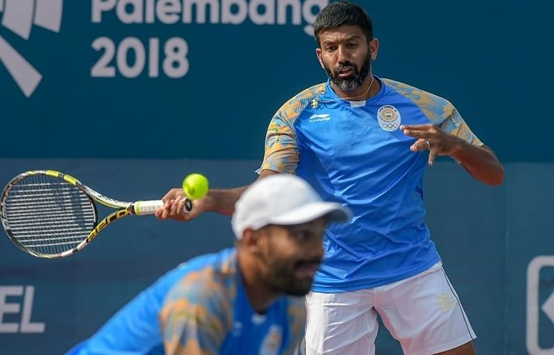 Asian Games 2018: Rohan Bopanna and Divij Sharan claim men's doubles gold in tennis