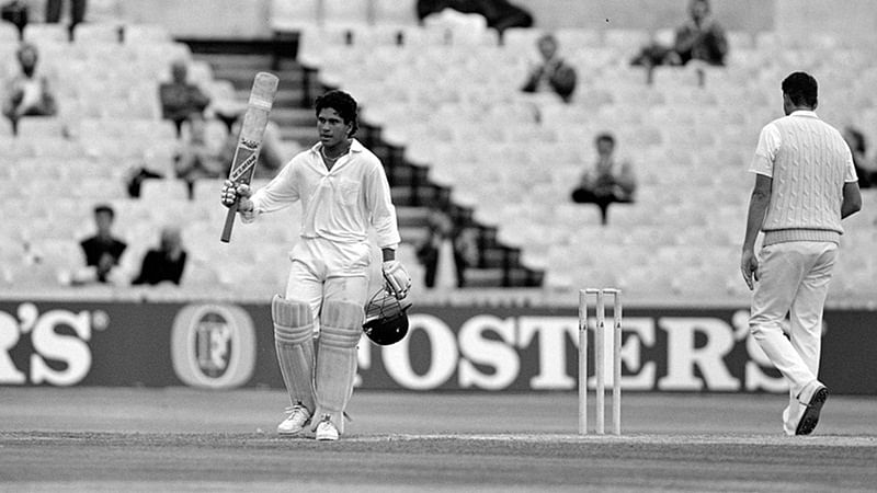 On This Day in History! August 14, 1990- Sachin Tendulkar smashes maiden Test century