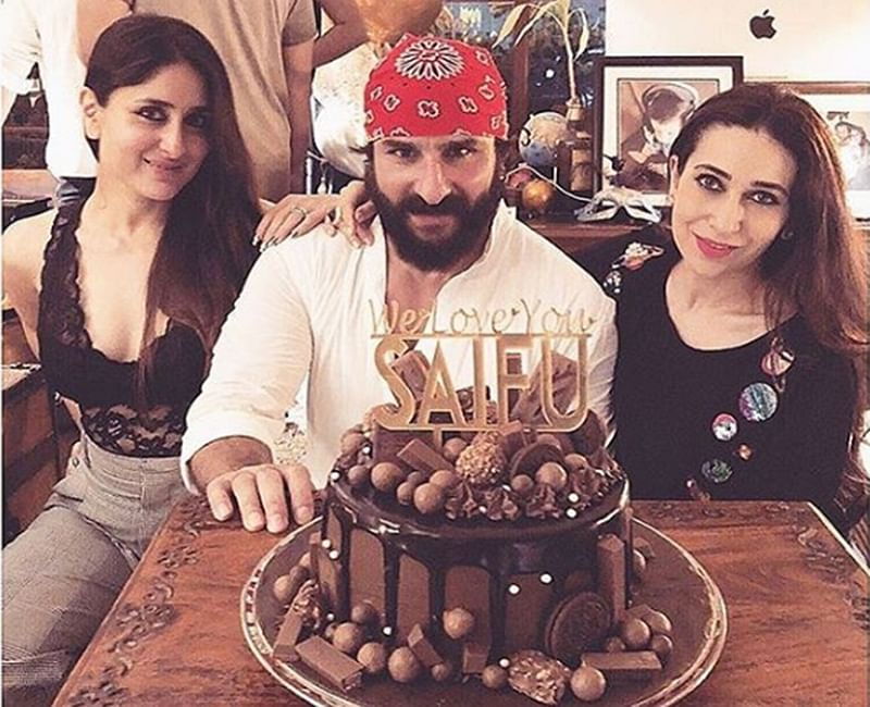 Saif Ali Khan Birthday Bash: Kareena and Sara Ali Khan make Saifu's birthday memorable with loved ones; see pics