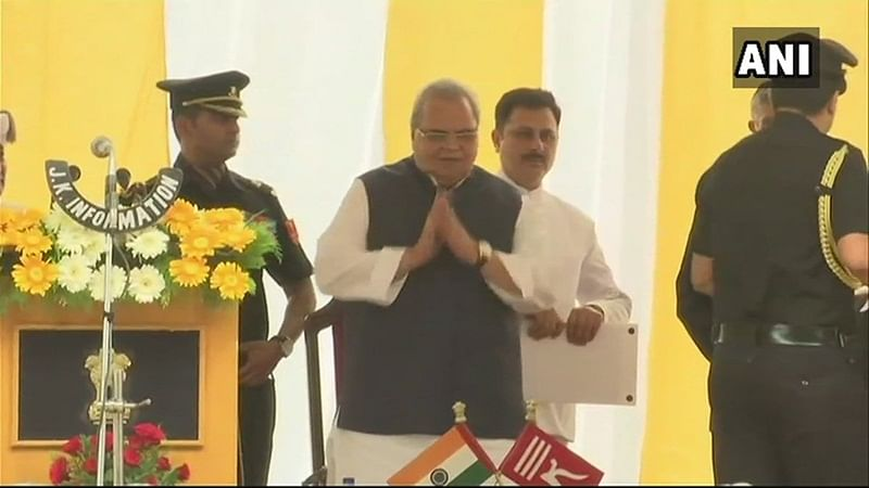 Satya Pal Malik sworn in as Jammu and Kashmir governor
