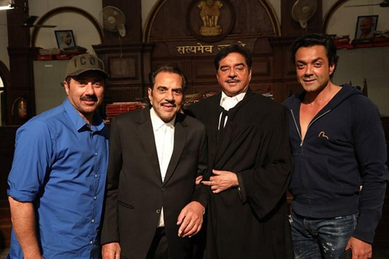 Yamla Pagla Deewana Phir Se: Shatrughan Sinha shoots with Dharmendra, Sunny Deol and Bobby Deol