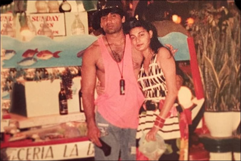 Suniel Shetty Birthday Special: Amid politics of religion, Suniel-Mana interfaith love story is one for the ages