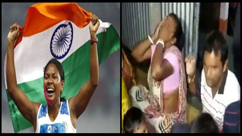 Watch video of Swapna Barman's mother crying with joy after daughter bags gold medal in Asian Games
