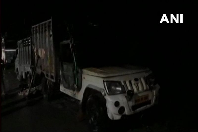 Uttar Pradesh: Vehicle carrying animal remains sacrificed during Eid al-Adha set on fire