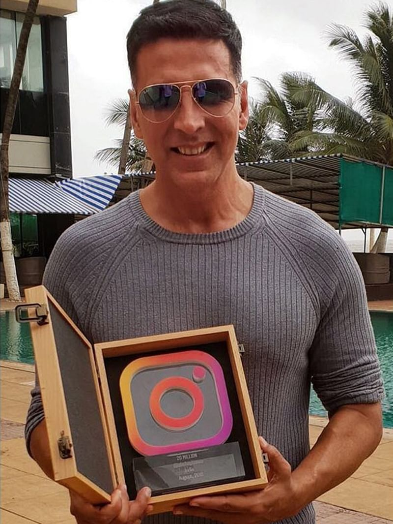 Whoa! 'Gold' star Akshay Kumar become first Bollywood actor to hit 20 million followers on Instagram