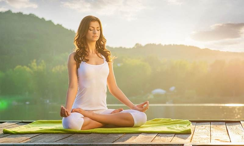 Guiding Light: The practice of yoga and meditation