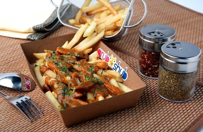 Cheesy Makhani Fries