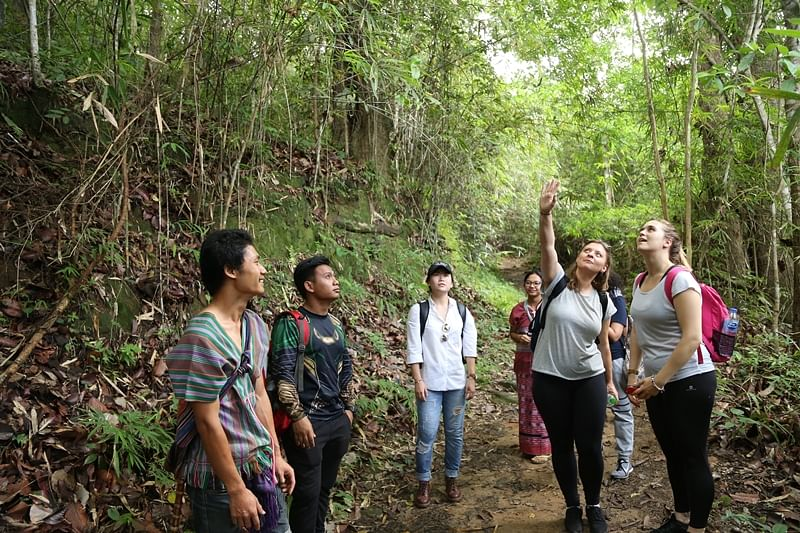 Learning about the Hmong and Karen hill tribes