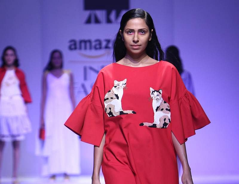 Designer Aniket Satam's Cat Collection