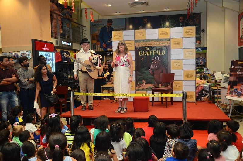 Crosswords: A children's book launch event underway at Crosswords, Kemps Corner