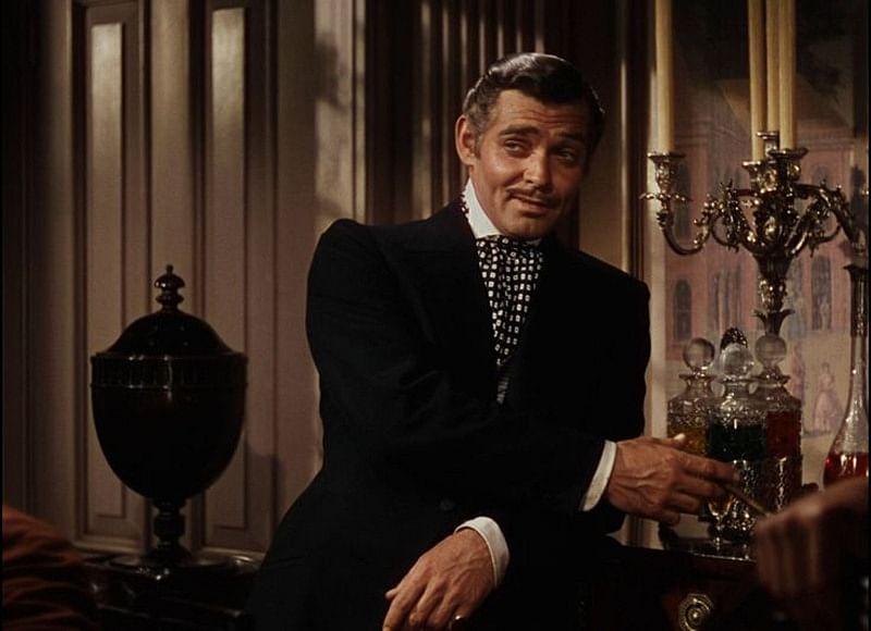 Clark Gable as Rhett Buttler in Gone With The Wind