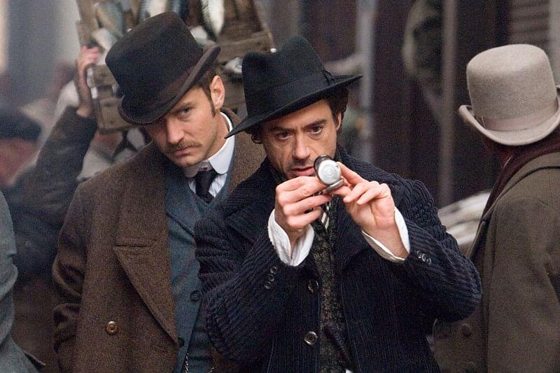 Robert Downey Jr brought Sherlock Holmes to life