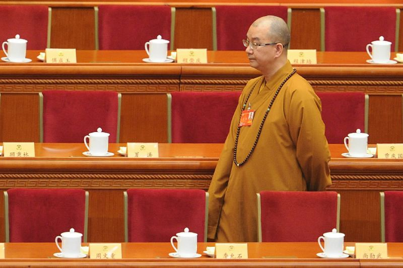 Top China Buddhist leader quits in sex probe