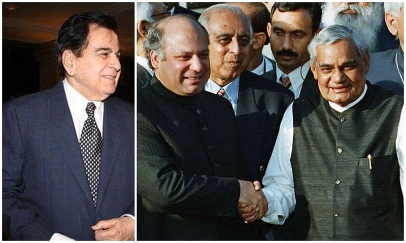 When Atal Bihari Vajpayee made Dilip Kumar speak to Nawaz Sharif during Kargil War