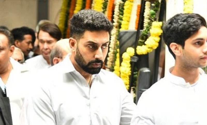 Rajan Nanda Demise: Abhishek Bachchan, Aishwarya Rai and others pay last respect; See pics