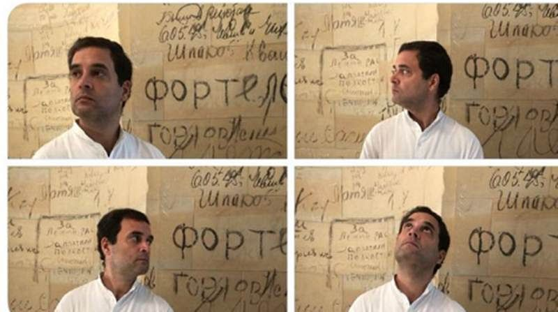 Unbelievable! BJP finds many facets of Rahul Gandhi irresistible, retweets his pictures