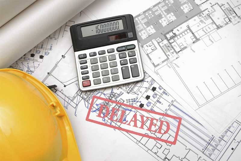 Taxation in delayed housing projects