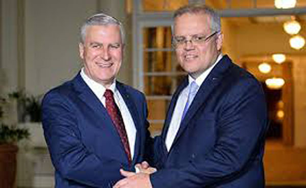 Scott Morrison new Aussie PM