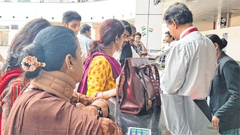 Bhopal: Delayed information on cancelled flight irks passengers