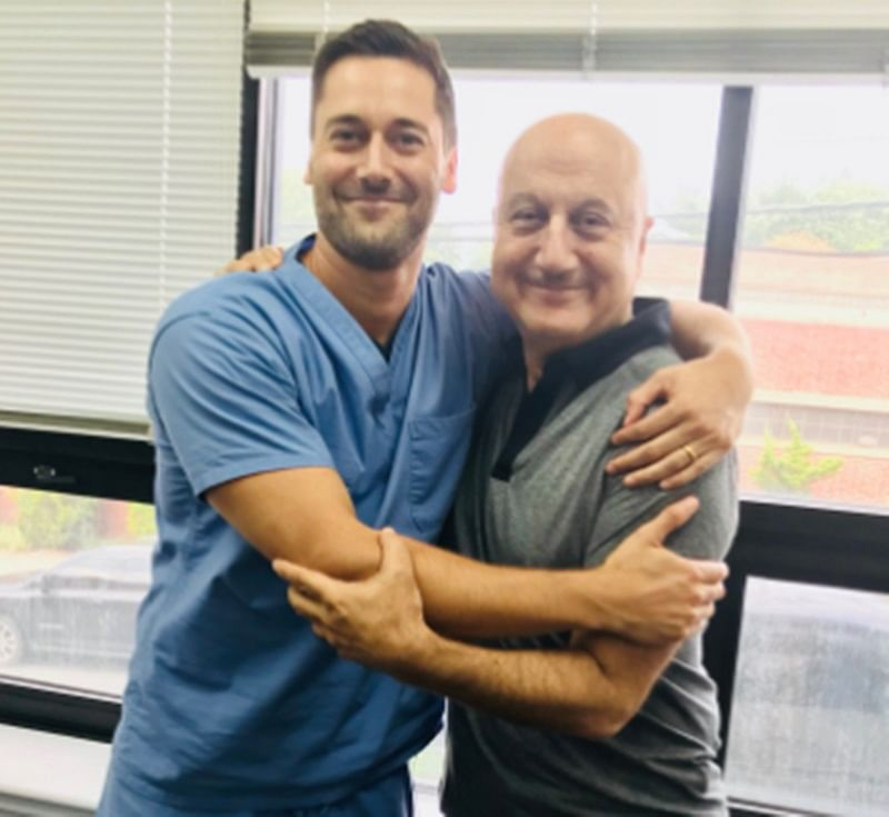 New Amsterdam: Anupam Kher calls Ryan Eggold 'coolest co-actor'