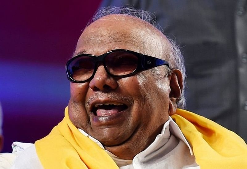 Life-size statue of late M Karunanidhi to be unveiled in Chennai on December 16