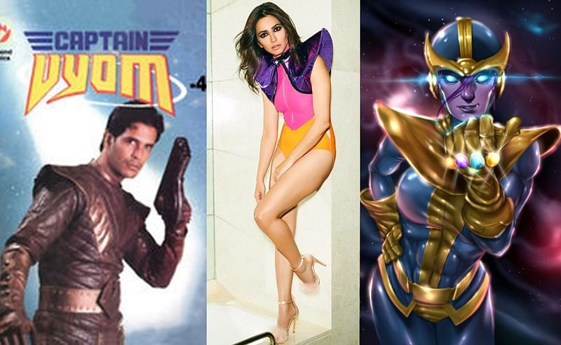 Kriti Kharbanda trolled as 'Captain Vyom', 'Lady Thanos' in this swimsuit pic
