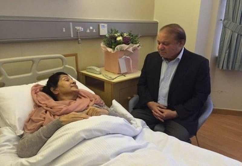 Begum Kulsoom Nawaz passes away: Mortal remains of ex-Pakistan first lady to arrive on Friday