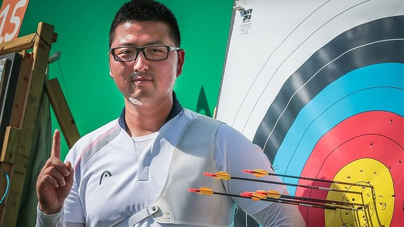 Asian Games 2018: Korean archer Kim Woo-jin refuses to celebrate gold