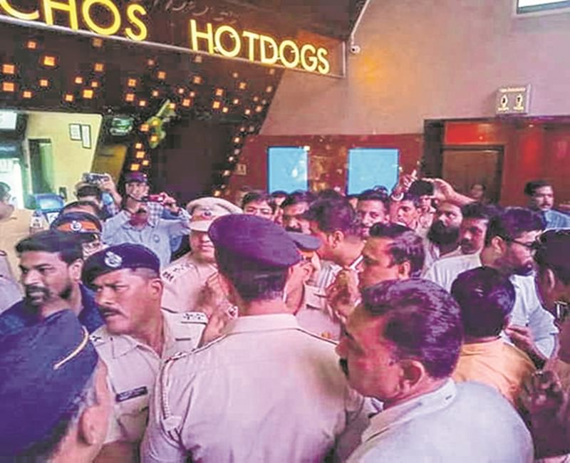 Mumbai: Cops stopped MNS leaders from bringing outside food to multiplex