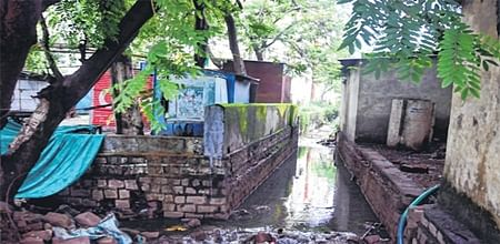 Bhopal: Encroachments over nullah leading to flooding