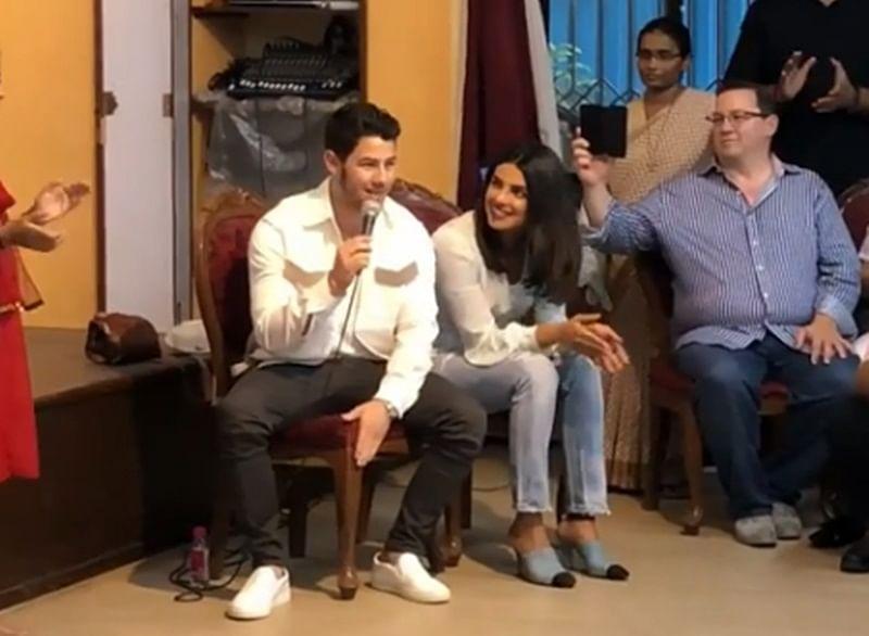 Priyanka Chopra thanks Nick Jonas for singing 'Lovebug' at Mumbai orphanage; Watch video
