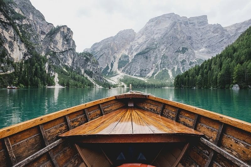 Take that boat ride across a river to connect with nature