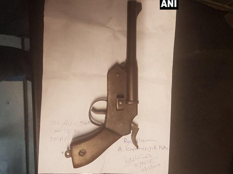 Mumbai: Maharashtra ATS seizes 10 pistols from key terror accused Vaibhav Raut's house