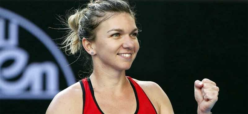 Halep enters Rogers Cup final in Montreal