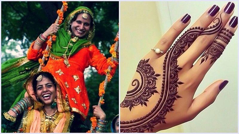 Hariyali Teej 2018: Beautiful and easy mehendi designs to flaunt on Teej
