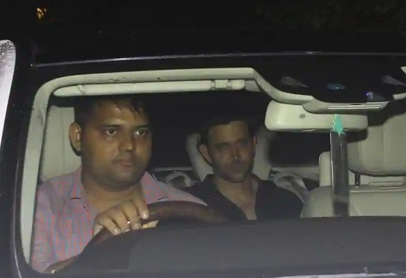 Hrithik Roshan attends Eid party at ex-wife Sussanne Khan's maternal home without her