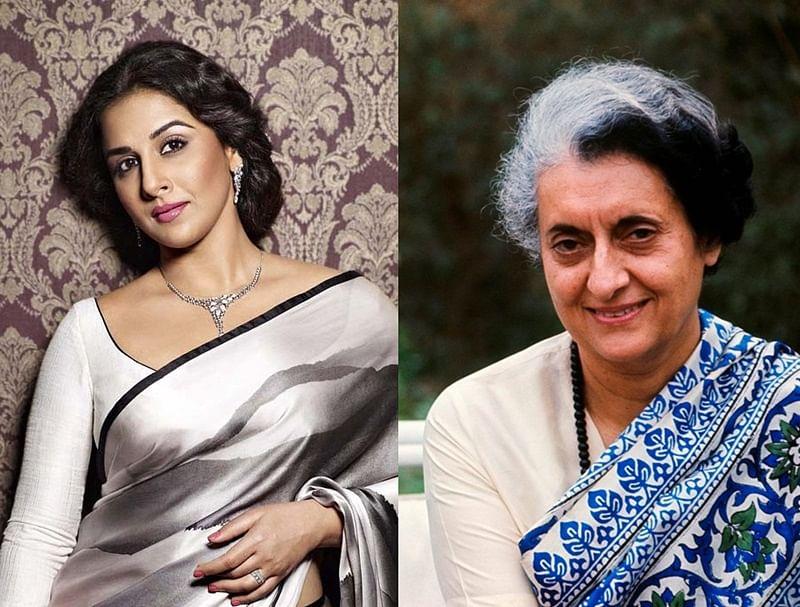 Confirmed! Versatile Vidya Balan to play Indira Gandhi in biopic web series