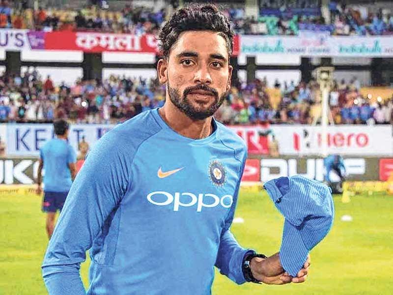 Mohammed Siraj grabs eight to dismiss Aus A for 243