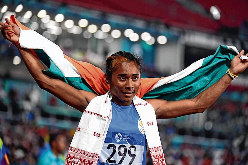 Hima Das downplays controversial statement at Asian Games