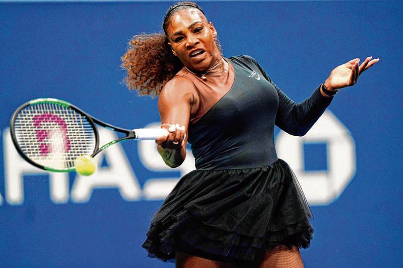 Six-time champion Serena Williams enters semis