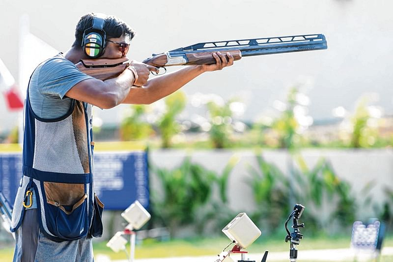 Amazing Ankur Mittal shoots gold